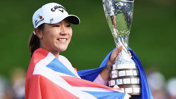 Ko won the first of her two majors at the Evian Championship in 2015.