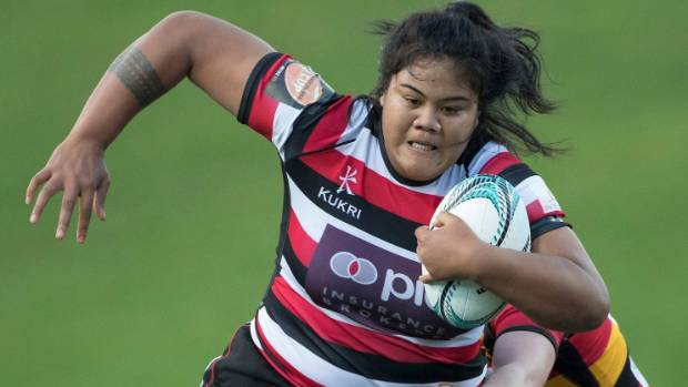 Counties Manukau Heat prop Katie Matau will be an imposing figure come scrum time against Auckland.