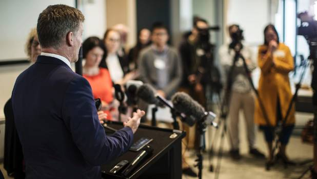 Prime Minister Bill English answers questions concerning National MP Jian Yang's background.