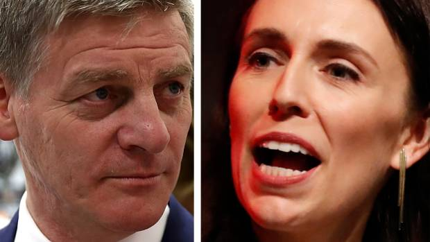 "Bill English stands firm as Jacinda Ardern accuses National's ad campaign of being ""full of lies and scare mongering""."