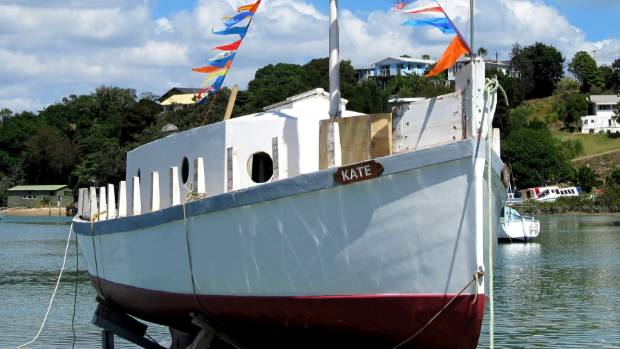 The Kate after some initial work.