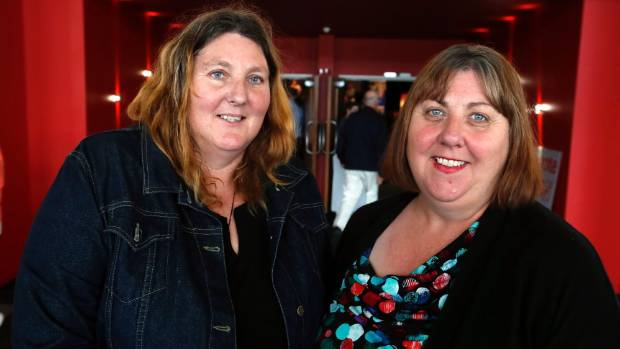 Nelson residents Tracy Rolle, left and Mary Ring say they are likely to cast their party votes for Labour after hearing ...