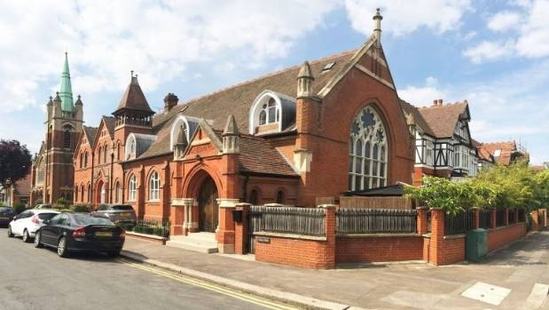 The foundation stone of James Spicer Memorial Church Hall was laid in 1890.