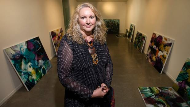 Rotorua artist Talulah Belle Lautrec-Nunes will show work in New Plymouth gallery Kina NZ Design + Art Space's latest ...