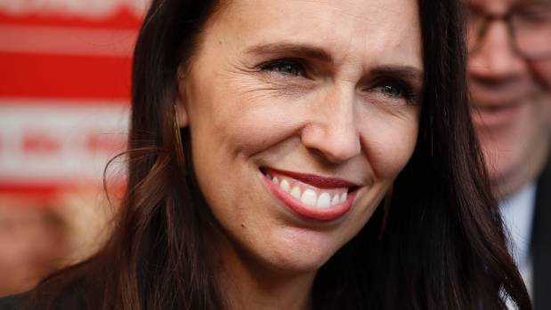 Labour leader Jacinda Ardern - the latest poll should put a smile back on her face.