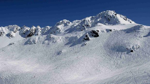 Annie Walden, 26, fell more than 30 metres from a cliff at Mt Olympus Ski Area in Canterbury on Tuesday (file photo).