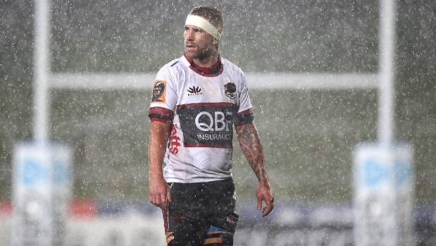 Jarrad Hoeata has started all four games for North Harbour in this year's Mitre 10 Cup.