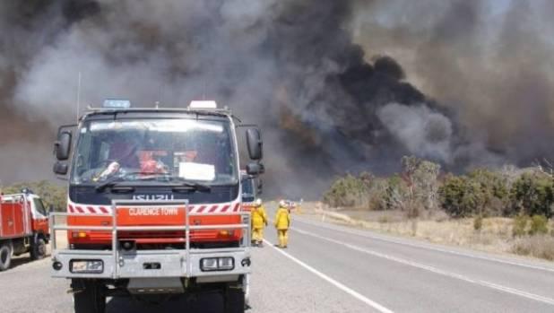 irefighters are battling a blaze near Cessnock, NSW.