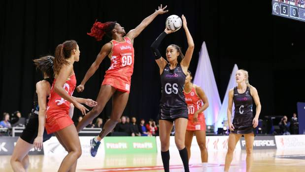 Maria Tutaia began strongly in the Silver Ferns' third test against England.