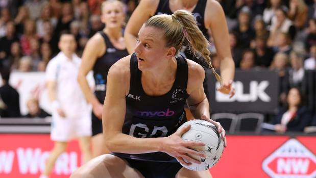 Silver Ferns captain Katrina Grant earned her 100th cap on Wednesday.