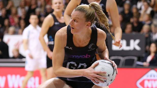 Katrina Grant led the way for the Silver Ferns on Wednesday in her 100th test.
