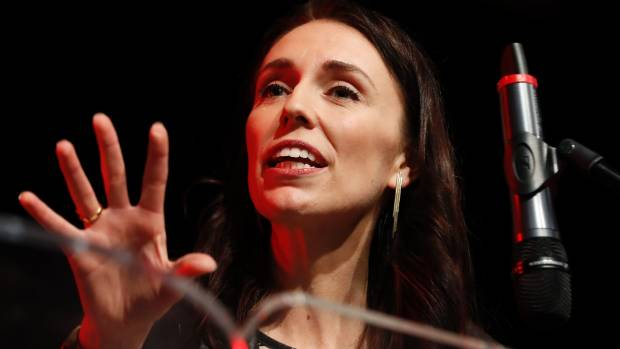 Labour Party leader Jacinda Ardern said her campaign would be relentlessly positive, but had strong words for National ...