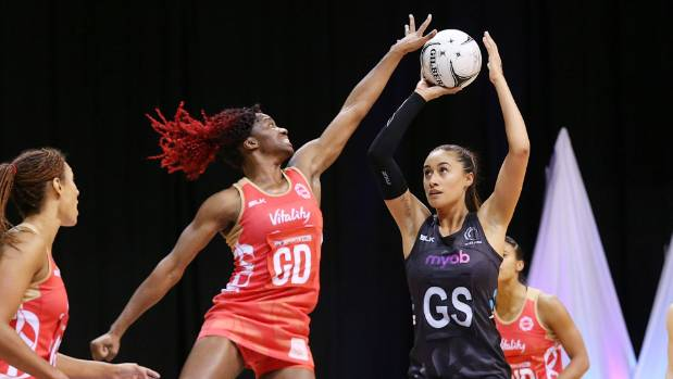 Shooter Maria Tutaia was one of the Silver Ferns who had an inconsistent series.