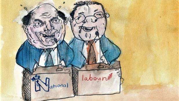 Just what is the big stuff Steven Joyce and Grant Robertson will argue over?