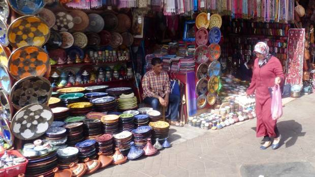 Marrakech is a busy modern city, but the more interesting part is the old market area where vendors are expert hagglers ...
