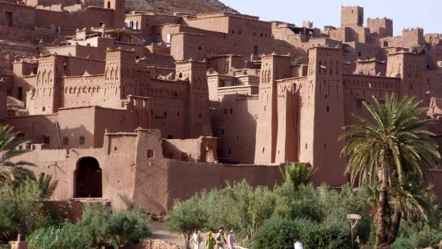 The fortress Ait-Ben-Haddou was a stopping point along the ancient caravan routes, but it's also been the site of many ...