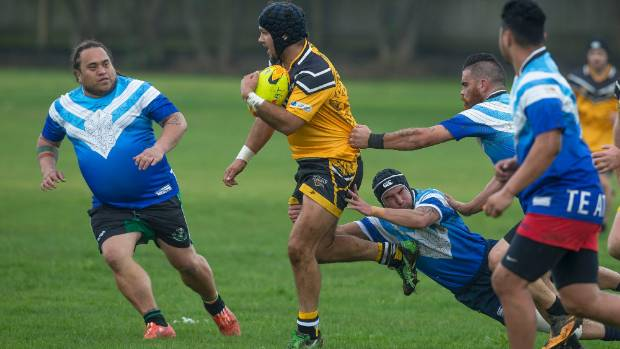Te Ātiawa, blue, will be one of a number of iwi contesting the annual Taranaki Māori Rugby League tournament.