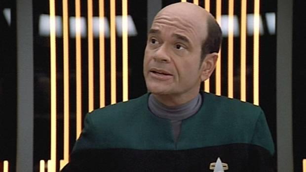 Robert Picardo on screen in the Star Trek: Voyager series.
