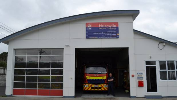 Phil Cox has been a volunteer firefighter for the Helensville Fire Brigade for 15 years.