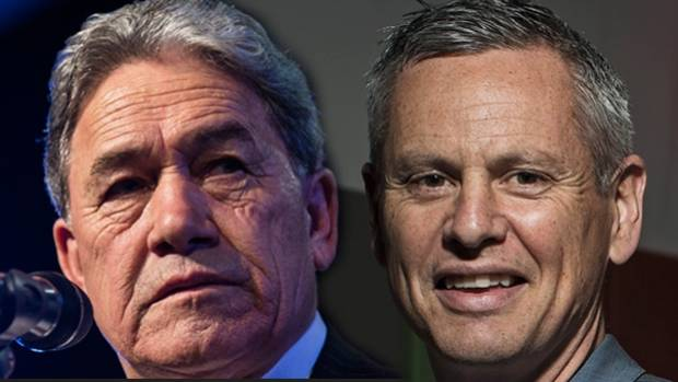 Winston Peters traded blows with RNZ host Guyon Espiner today.