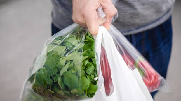 Countdown bags are made from HDPE, Foddstuffs' Pak 'n Save and New World bags are made from reduced weight LDPE bags.