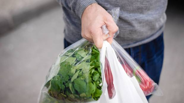 Australian supermarket Coles is giving away plastic bags so it can get shoppers through checkouts quicker during its ...