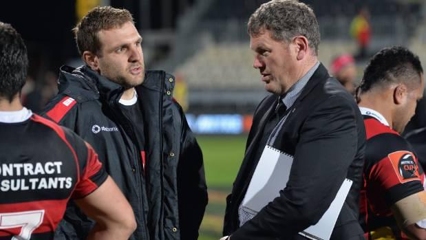Canterbury captain Luke Whitelock and coach Glenn Delaney reflect on their team's 78-5 win against Counties Manukau on ...