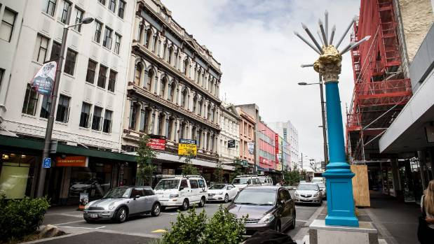 Cyclists regularly flout the one-way rule on lower Cuba St but Wellington City Council has voted to make it legal by ...