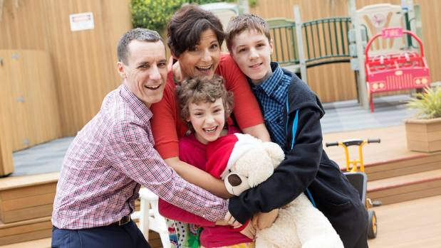 The Cooke family are one of more than 3700 families that stay at Ronald McDonald Houses each year. They stayed five ...
