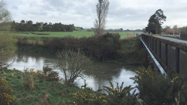"""The Waimea Stream near Mandeville had become """"no more than a dirty ditch in parts'' according to the 'Lost Rivers' report."""