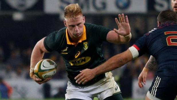 Jean-Luc du Preez will start at flanker for the Springboks this weekend.