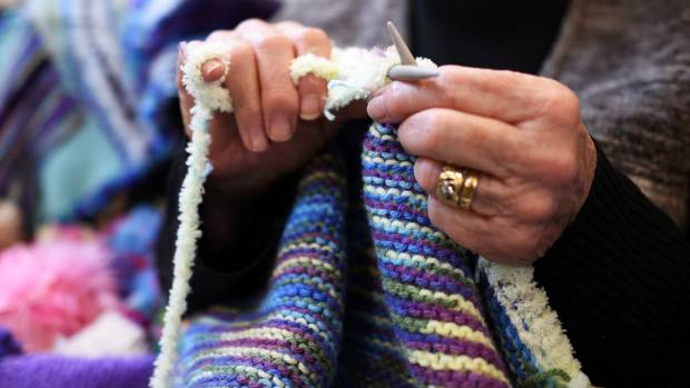 Dementia Auckland fundraising manager Stephanie Maitland said knitting can help dementia sufferers retain purpose.