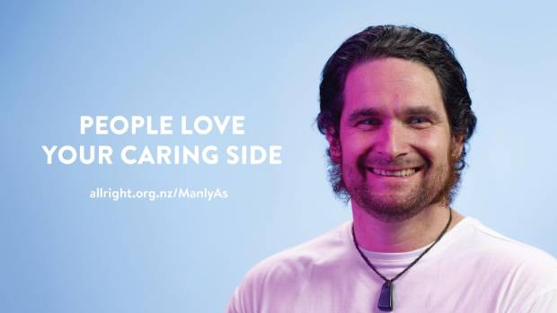 """Johnny Moore's """"dodgy brother-in-law"""" shows the caring side of manliness in the All Right? mental health campaign."""
