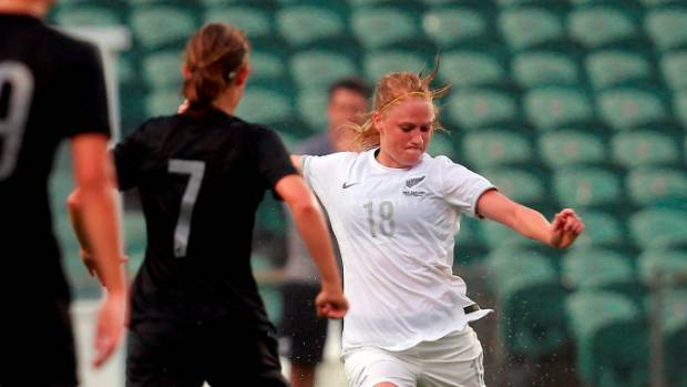 Last month, Football Ferns defender CJ Bott signed her first pro deal, with USV Jena in Germany.