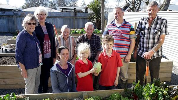 Only last year the Balclutha Community Garden was just an unused quarter-acre block of land with an old house on it. Now ...