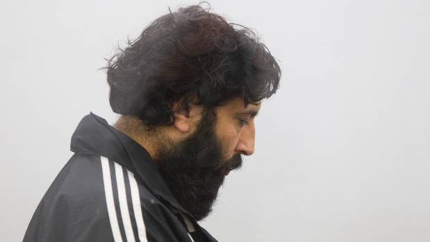 Nabjeet Singh appearing in the Wellington District Court on fraud charges on Thursday.