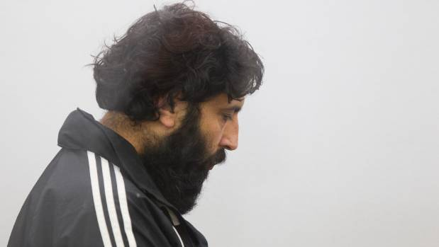 Former MSD investigator Nabjeet Singh appearing in the Wellington District Court on fraud charges.