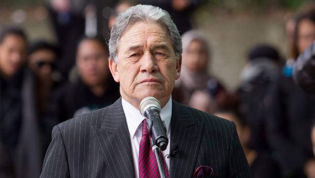 Winston Peters didn't get much of a nod from Bill English in his election night speech.