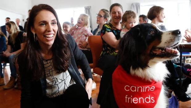 Labour Party leader Jacinda Ardern remained top in the preferred Prime Minister stakes.