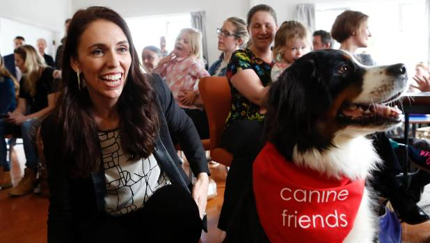 Jacinda Ardern 'holding firm' on water tax