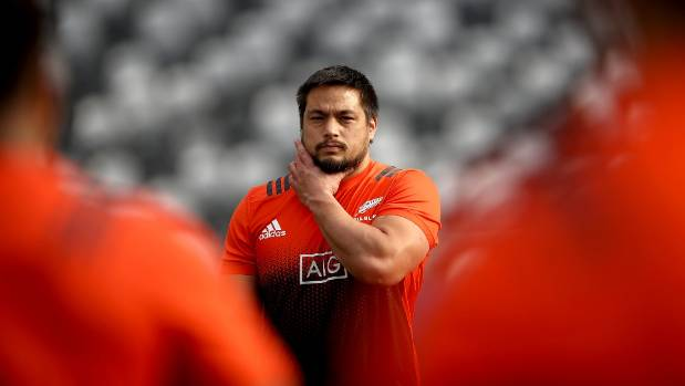 Kane Hames is a 'destructive' scrummager, says his All Blacks coach.