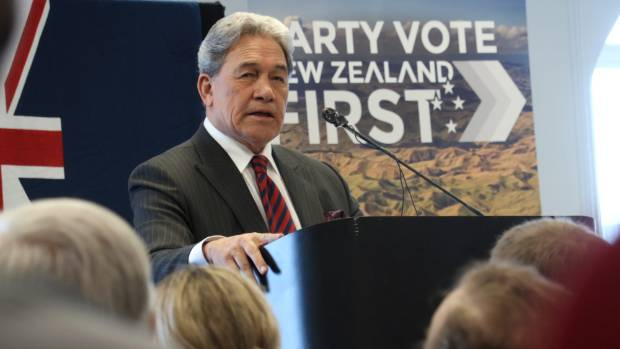 Winston Peters' prostate policy is the opposite of an election bribe.