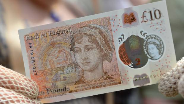 Jane Austen is famous for work printed on paper, but the author's face now adorns plastic as the UK launches a ...