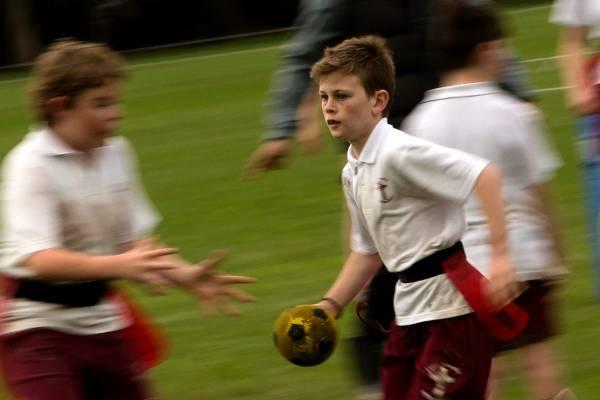 Robbie Dyer, 9, of St Josephs School, Feilding.