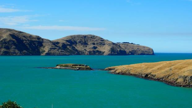 The deep, green harbour at Lyttelton is described in New Zealand on Foot.