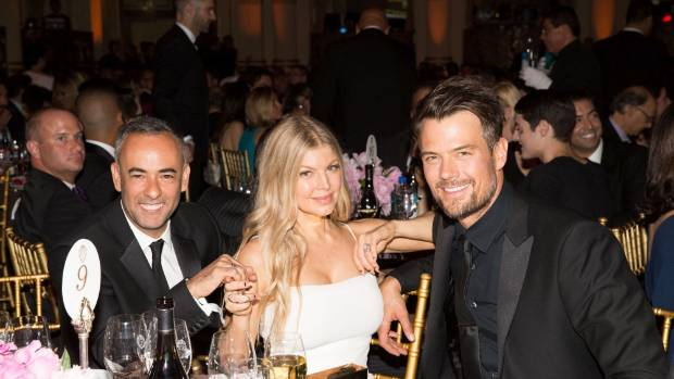 Fergie said it was 'weird' pretending she was still with Josh Duhamel