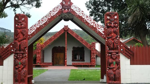 Takapuwahia Marae along Ngāti Toa Street in Porirua.