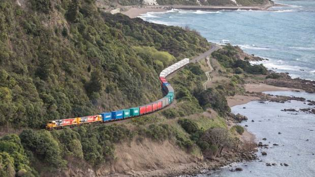 The Main North Line between Picton and Christchurch has been closed due to bad weather, just days after its post-quake ...