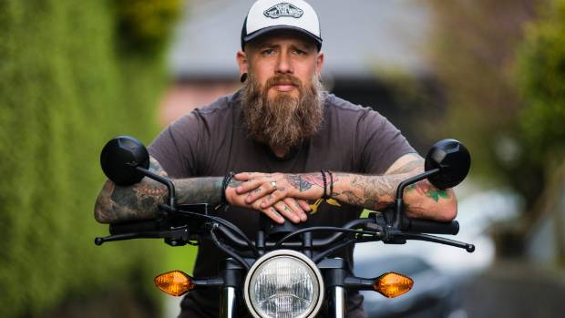 Jonty Penney from Timaru is participating in the Distinguished Gentleman's Ride to raise funds for mens' health.