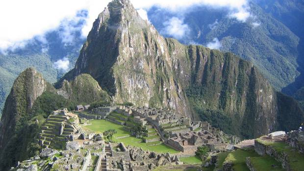 Peru's Inca Trail - you may end up in a crowd.